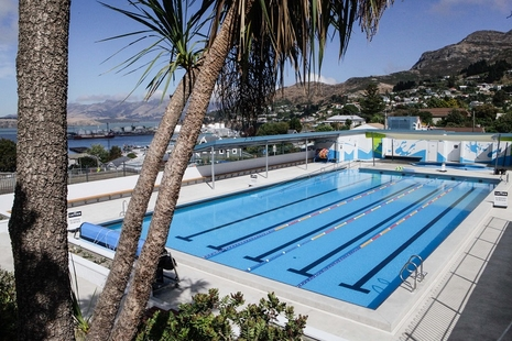 Lyttelton outdoor swimming pool