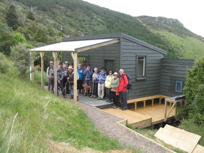 Rod Donald Hut - Banks Peninsula