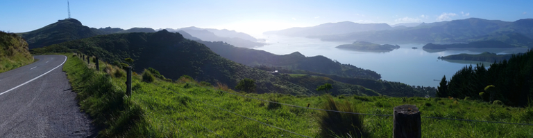 Lyttelton Harbour from Summit Rd