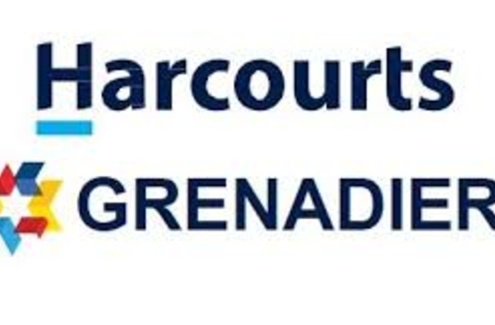 Blue Harcourts Grenadier with red yello and blue star shape
