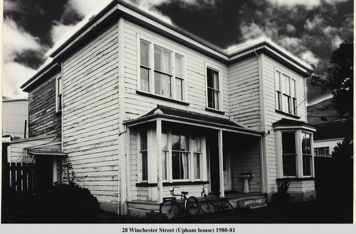28 Winchester street otherwise known as Upham house in the 1980s by photographer Jae Renaut